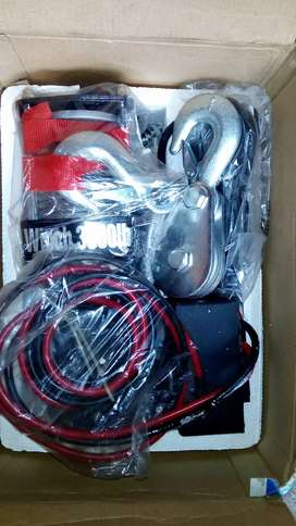 box pack brand new winch complete made in China for sale