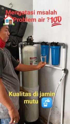 Alat filter penyaringan air kuning bau zat besi kapur berminyak dll