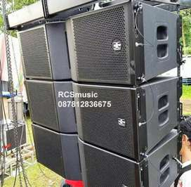 1set speaker line array RDW tarra210 dan Tarra 218