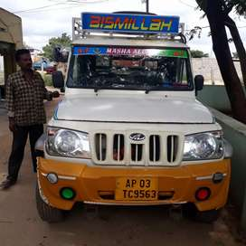 Bolero MAXITRUCK PLUS POWER STEER its good condition