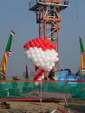 Balon Helium Terbang