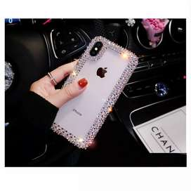 For iPhone XR XS Max Bling Glitter Phone Case