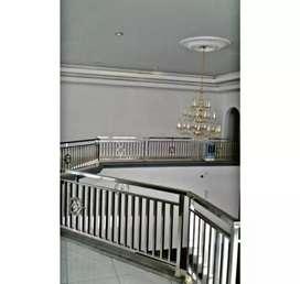 Railing tangga dan balkon stainless steel #1590