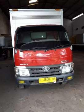 Toyota dyna 110 ET box alumunium 2013