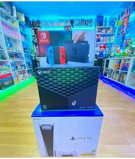 Exchange old gaming console to new playstation 5