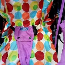 Stroller baby safe