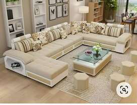 6 seater sofa set Available on factory price