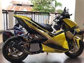 Yamaha Aerox 155 Full Modifikasi