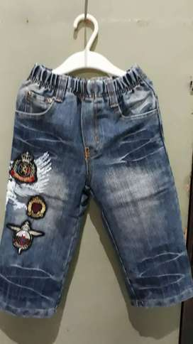 Celana Jeans anak 2 set