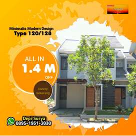 Rumah Lux 2 Lantai Ciwastra Bandung dkt Buahbatu Summarecon Luas murah