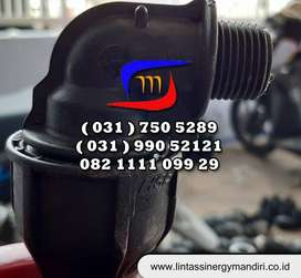 Fitting Elbow Drat Luar HDPE
