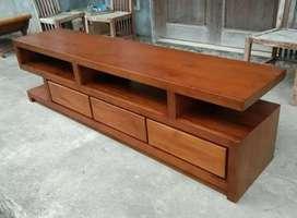 almari bufet atau cabinet tv model minimalis jepara mpb369