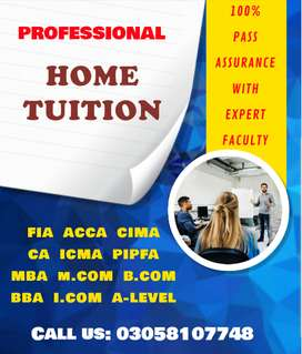 ACCA MBA Home Tuition