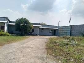 Dijual Bangunan dan Tanah Eks Pabrik Closed di Jetis Mojokerto,JATIM