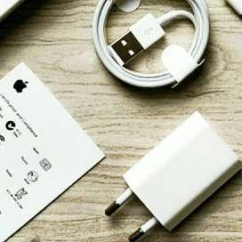 Charger + Kabel Data Original Lightining iPhone 5/5s/5c Garansi