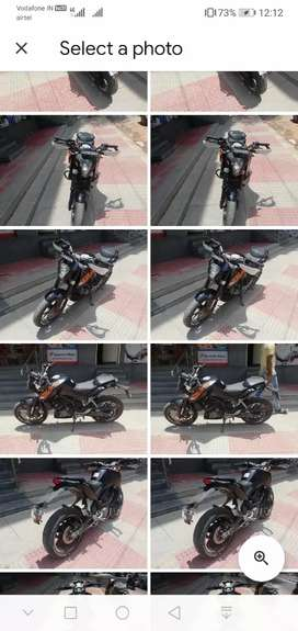 Auto india ktm duck 200cc  2015 Showroom condition up