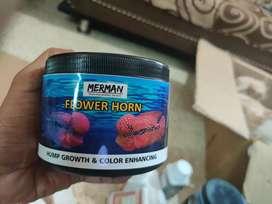 Flowerhorn food imported