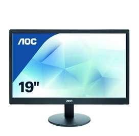 AOC 18.5-inch (46.99 cm) LED Backlit Computer Monitor