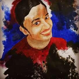 Customised Portrait Paintings