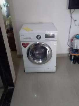 LG inverter drive 8 kg front loading fully automatic washing machine