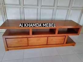 Ready Buvet Tv Minimalis Bahan Kayu Jati Monggo @319