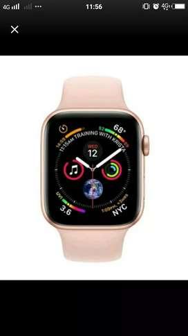Apple Watch Series 4 44mm Gold/Pink Bisa Cicilan Tanpa kartu Kredit..