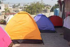 Camping Tants available in different sizes
