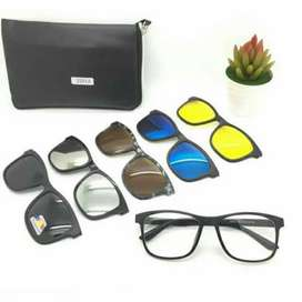 Kacamata Anti Silau 5 Lensa Polarized