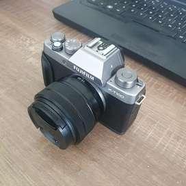 Kamera Fujifilm XT100 Fullset