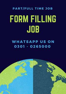 100%Real home base job opportunity Form filling job earn daily