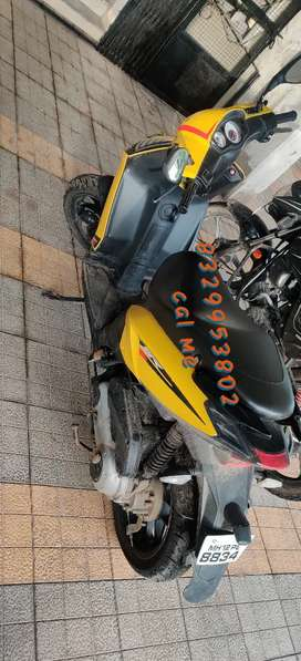 To bikes Aprila n rs pulsar num given in photo n  call both bikes