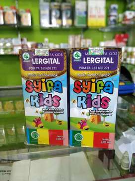 Madu Herbal Anak Syifa Kids LERGITAL (Alergi & Gatal) Netto 100 ml