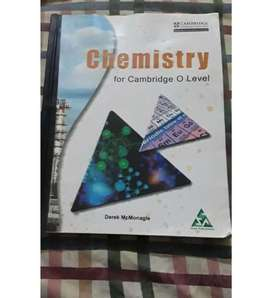 Chemistry textbook for o level