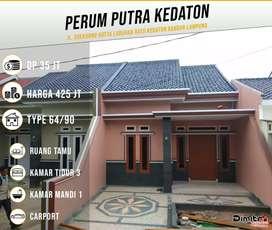 Best Design & QuaLity Cluster Keren One Gate System Di Putra Kedaton