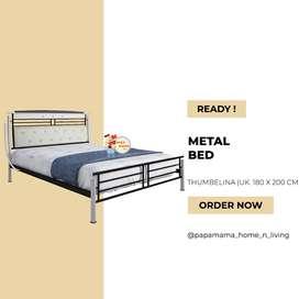 Ranjang Metal Bed -Rangka Kasur Minimalis uk.180 Thumbeina - Medan