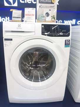 Kredit mesin cuci electrolux front loading 8Kg proses 3menit