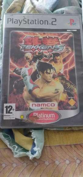PS2 Tekken game