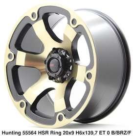 modiff HUNTING 55564 HSR R20X9 H6X139,7 ET0 BMF