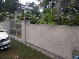 10 cent plot with compound wall,well and gate for sale