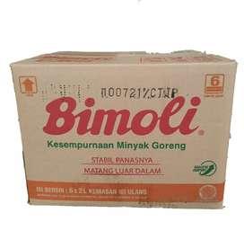 Minyak Goreng Bimoli Ref 2 Liter (isi 6)