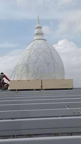 Ahli dan Profesional Jasa Pembuatan dan Pemasangan Kubah Masjid GRC
