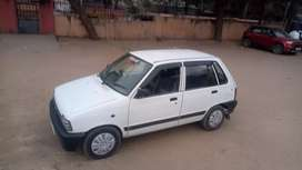 car with new mrf tube less tyres, new battery and powerful engine