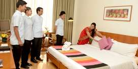 Urg: House keeping executive and front office executive for star hotel