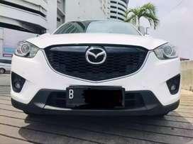 Mazda cx 5 GT nik 2014 putih