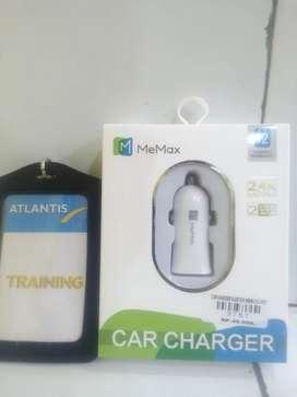 Car charger plastick Memax cc-p101