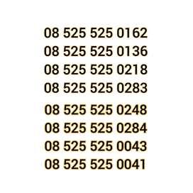 Kartu Perdana Telkomsel Nomor Nomer Cantik Nocan