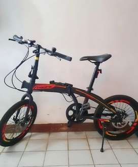 Sepeda Lipat Pacific 2980 Rx 6.0, 20inch, 7 speed