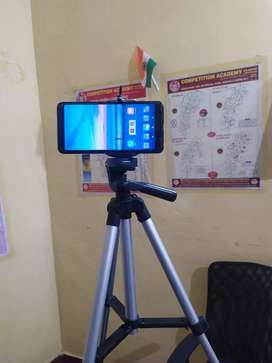 Tripod Stand Mobile Clip and Camera Holder with Bag
