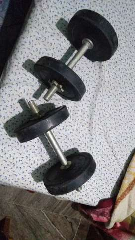 Dumbuls with 4 plate