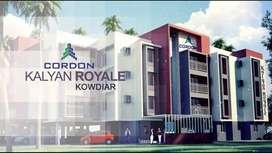 Flat for rent in  Kuravankonam 18000